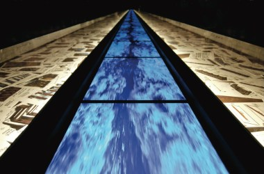 Fabrizio Plessi, Liquid Life | Installazione a Ca' d'Oro (dettaglio)