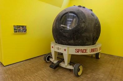 Vostok, Cosmos-2104 Capsula Spaziale   Space Capsule Bologna Fiere S. p. A., Photo Attilio Maranzano