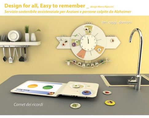 Marco Ripiccini, Design for all, easy to remember, 2011, ISIA Roma