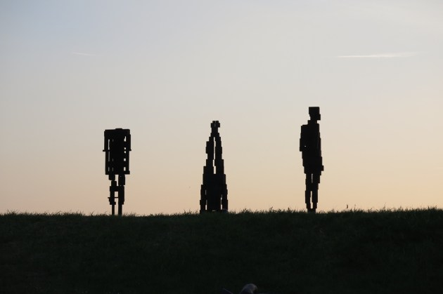 Antony Gormley HUMAN Forte di Belvedere, Florence, Italy Photograph by Antony Gormley Courtesy Galleria Continua and White Cube © the Artist