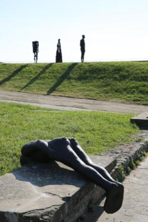 Antony Gormley HUMAN Forte di Belvedere, Florence, Italy Photograph by Emiliano Cribari Courtesy Galleria Continua and White Cube © the Artist