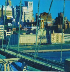 Bernardo Siciliano, NEW YORK 50 x 50. Courtesy Galleria Bonelli