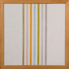 Elio Marchegiani, Grammature di colore - supporto intonaco, 1974, intonaco e pigmenti, 54.5x54.5 cm Courtesy Primo Marella Gallery