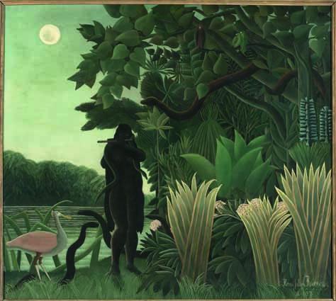 Henri Rousseau La Charmeuse de serpents/ L'Incantatrice di serpenti 1907 olio su tela, cm 167 x 189,5 Parigi, Musée d'Orsay © RMN‐Grand Palais (Musée d'Orsay)/Hervé Lewandowski
