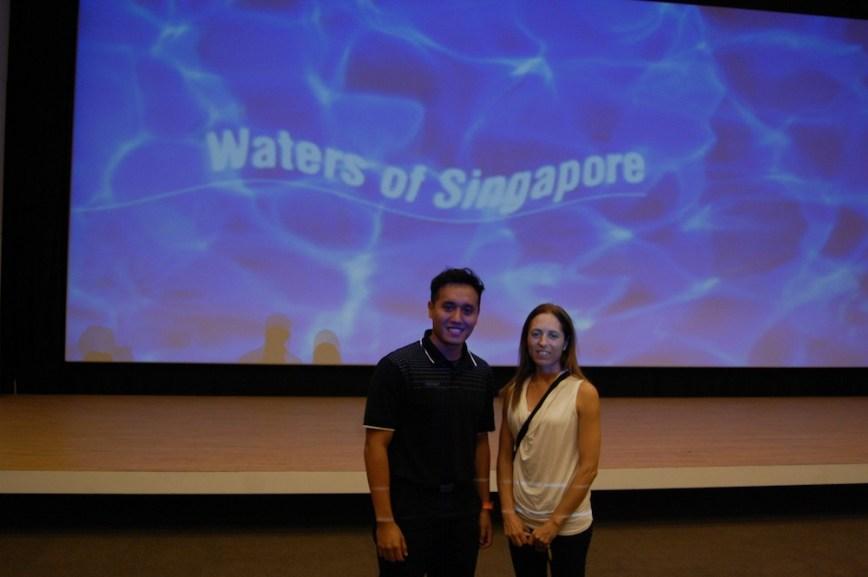 Maria Rebecca Balestra, Journey into Fragility, Singapore, visita al centro di riciclaggio delle acque Newater