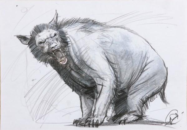 Matteo Garrone, Studio per Il racconto dei racconti, 2014, matita su carta, 30x20 cm