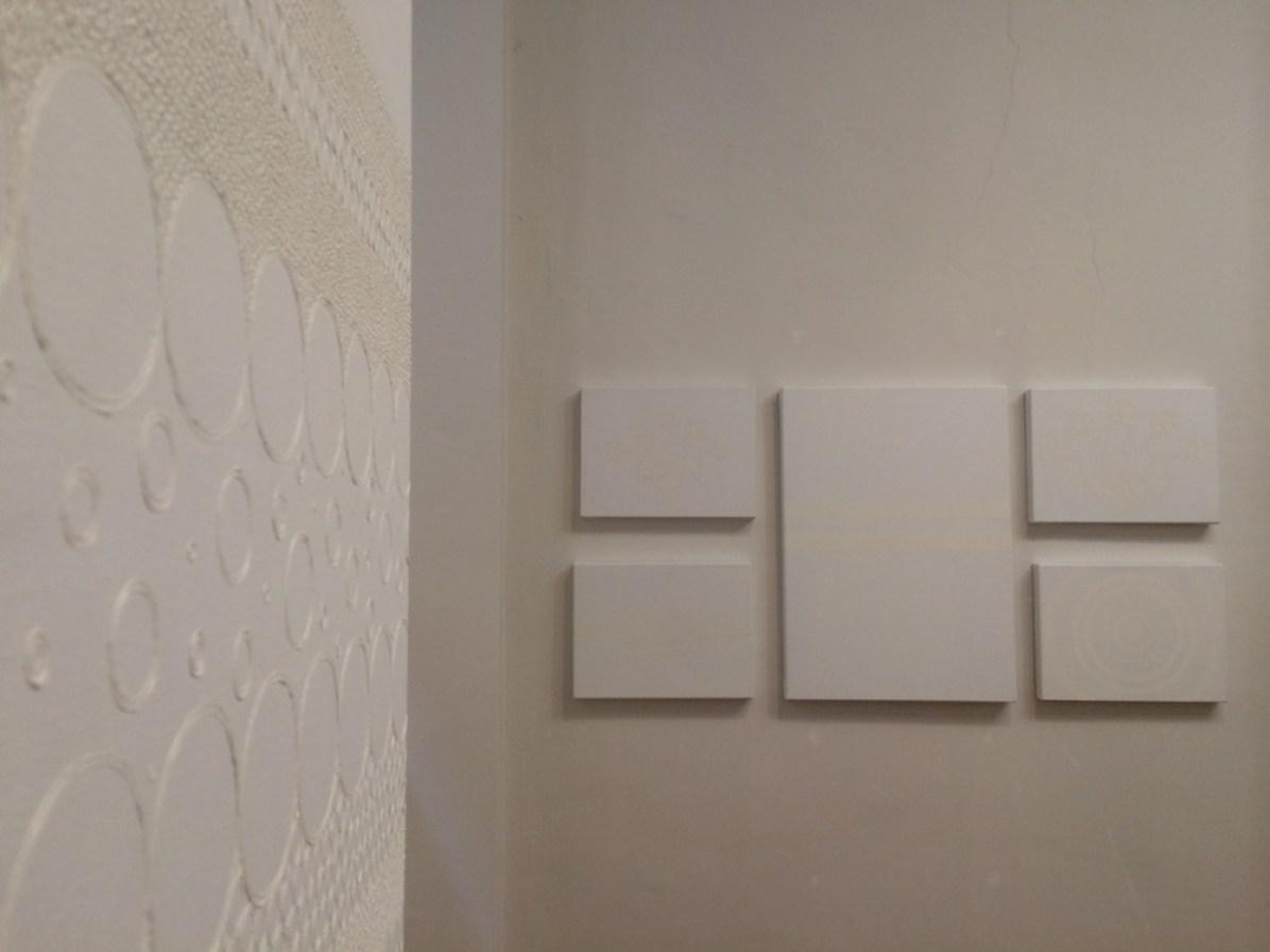 Elisa Cella. Sensazione concava, veduta della mostra, E3 arte contemporanea, Brescia