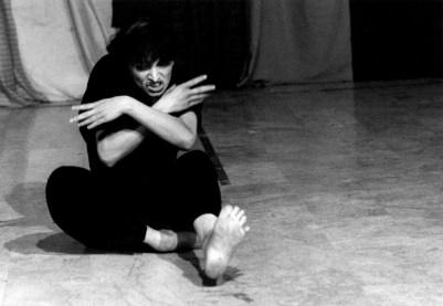 Claudia Contin Arlecchino in Il comportamento Ridisegnato Credit: Gianfranco Rota