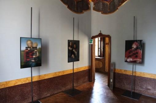 #nuovicodici, sezione #pixelage (Gianluca Rossitto), Palazzo Stanga Trecco, Cremona