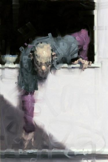 Wainer Vaccari, Senza titolo, 2015, olio su tela, 120x80 cm