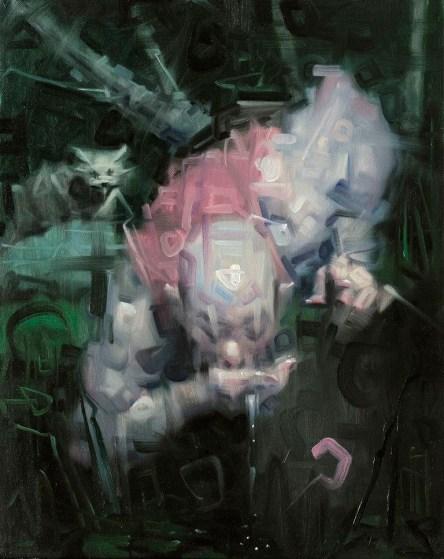 Wainer Vaccari, Sottoriva, 2015, olio su tela, 50x40 cm