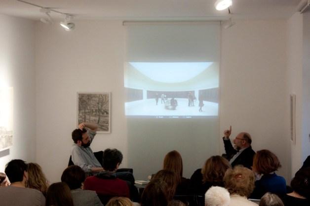 Le Ninfee de l'Orangerie di Claude Monet con Claudio Zambianchi. Foto di Francesco Basileo