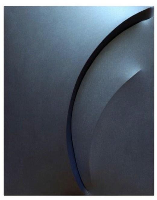 Giuseppe Amadio, Lita, 2014, tela estroflessa, 138x108 cm
