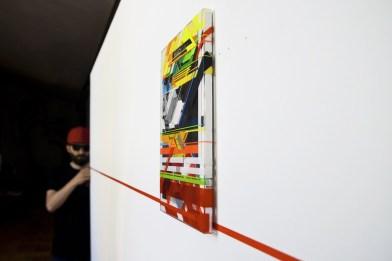 Speed. Mostra temporanea di No Curves, Galleria Villa Contemporanea Via Bergamo, Monza Credits Andrea Ucchino – Grauen Studio