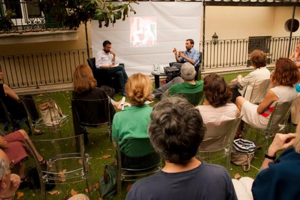 The Studio di Philip Guston con Luca Bertolo. Foto di Francesco Basileo