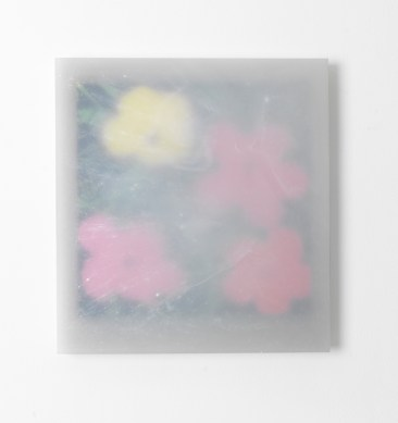 Flowers Andy Warhol 2015 Resina, pigmenti e oggetti vari su tela / Resin, pigments and various objects on canvas 69,6 x 64,3 x 8,2 cm foto / photo Michele Alberto Sereni courtesy Studio la Città, Verona