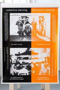 Marc Roig Blesa Educazione collettiva, Corso di fotografia in 10 minuti, Werker Magazine 2014/2015, parte di una serie di 10 serigrafie