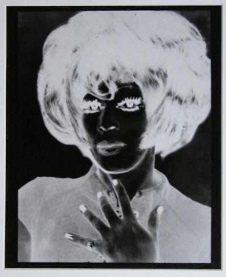 Andy Warhol, serie Ladies and Gentleman, 1975, acetato, 32x24 cm
