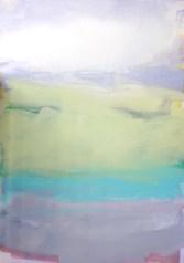 Italo Bressan, Proteggi il tuo cuore al calar della luna, 140x100 cm