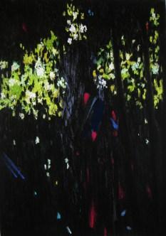 Dario Pecoraro Omega1, 2015, pastello secco su carta, 70 x 50 cm Courtesy dell'artista