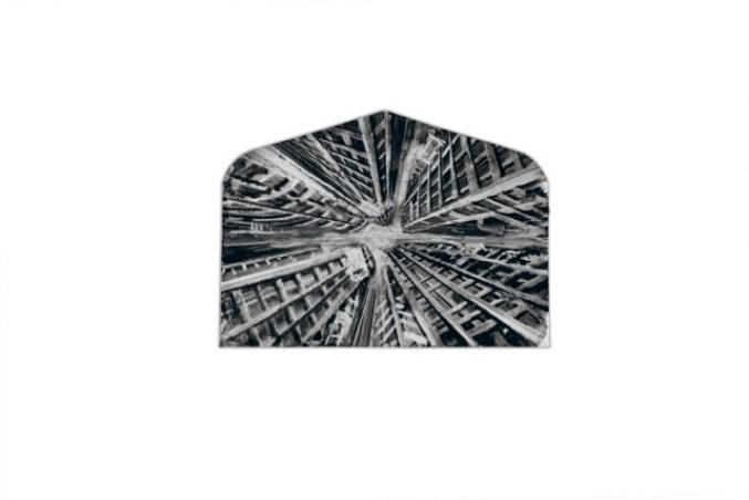 Fabio Giampietro, Bye Bye, 2015, sottrazione di colore ad olio su tela, 22x16 cm