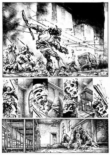 Lorenzo Mattotti, Rosso!, in Re Nudo, n. 52, Aprile 1977