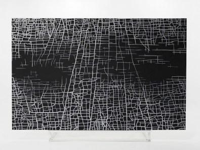 Massimiliano Galliani, Le Strade Del Tempo #1, 2012, acrilico su tela, cm. 280x410