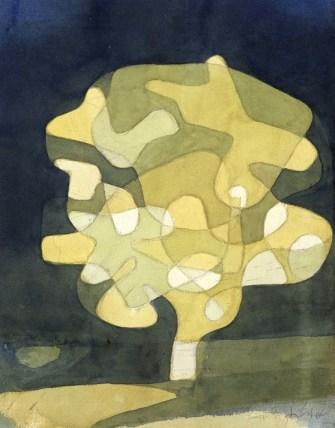 Paul Klee, Feigenbaum, 1929, acquarello, 33x25.8 cm, Collezione privata
