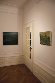 Rudy Cremonini veduta allestimento Le jardin intérieur