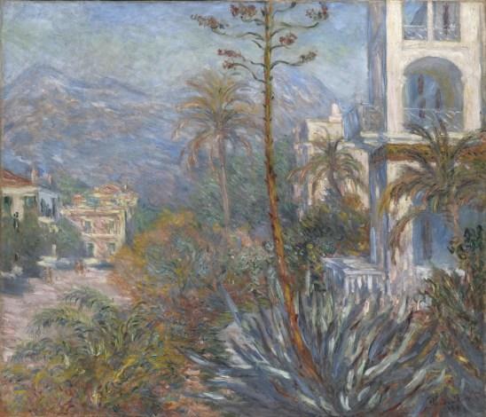 Claude Monet, Les villas à Bordighera, 1884, olio su tela, 116.5x136.5 cm, inv. RF 2000 94 13 (i.d 28) Monet 13, Paris, Musée d'Orsay © RMN-Grand Palais (Musée d'Orsay) / Patrice Schmidt