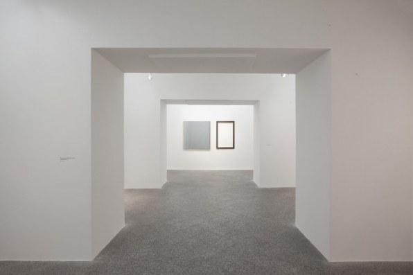 Veduta della mostra, Eugenia Vanni. Il vero colore del cielo, MAN, Nuoro