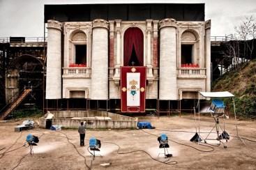 Philippe Antonello, Nanni Moretti sul set di Habemus Papam, 2011 Galleria civica di Modena © Philippe Antonello