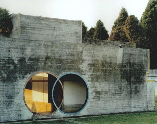 Guido Guidi, da La tomba Brion di Carlo Scarpa, #1179, 29-01-1997, 3.40pm, looking northwest, c-print, framed cm 41,5x46,5 © Guido Guidi courtesy Viasaterna
