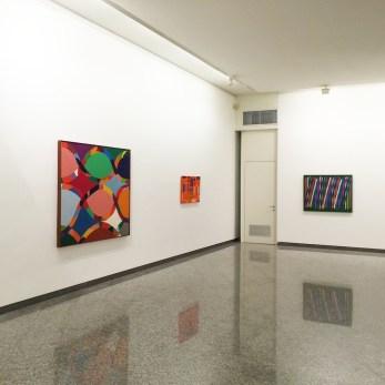 Piero Dorazio. Il colore della pittura, veduta della mostra, Lorenzelli Arte, Milano Courtesy Lorenzelli Arte, Milano