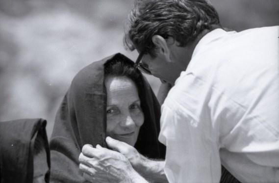 Susanna Colussi e Pier Paolo Pasolini sul set di Il Vangelo secondo Matteo,1964 © Angelo Novi/Cineteca di Bologna