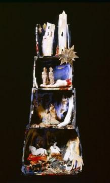 Fioroni Giosetta, Presepio 1996. Foto © Giuseppe Schiavinotto