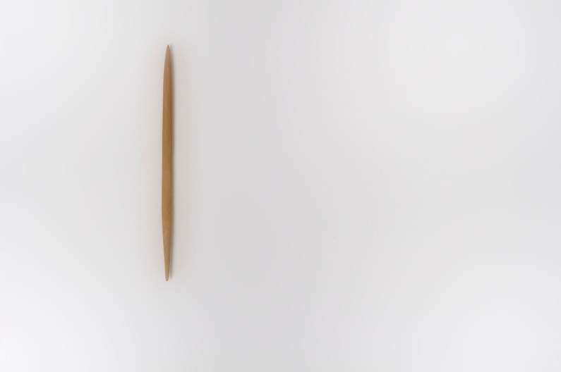 Sislej Xhafa, Toothpick, 2006 Foto Fabio Liverani