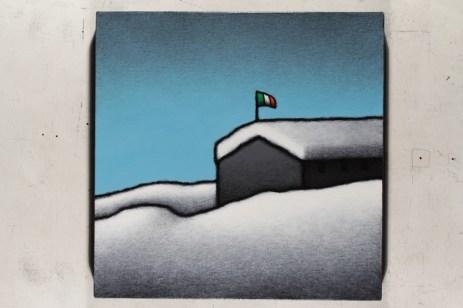 Tino Stefanoni, Senza titolo Z467, 2015, acrilici su tela, 36x36 cm