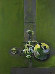 Graham Sutherland Forma organica, 1962–68 Olio su tela, 130,2 x 97,4 cm Collezione Peggy Guggenheim, Venezia. © The estate of Graham Sutherland