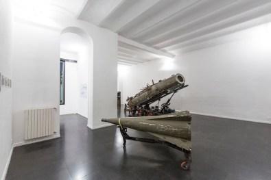 Paolo Gallerani, NIKE, dal 2011, carro mobile in due elementi, fusto e testata Foto di Fabio Mantegna
