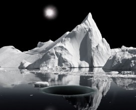 Aqua Aura, Warped Passage, 2015, stampa digitale su carta cotone Hahnemuehle, montata su alluminio, cornice floccata, 100x123x8 cm