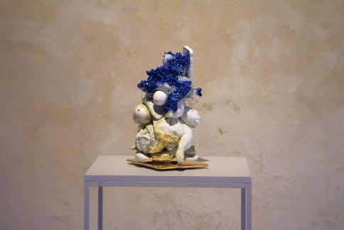 Francesco-Ardini-Tributo-2015-ceramica-smalto-lustro-oro-metallo-Courtesy-Federica-Schiavo-Gallery-Roma