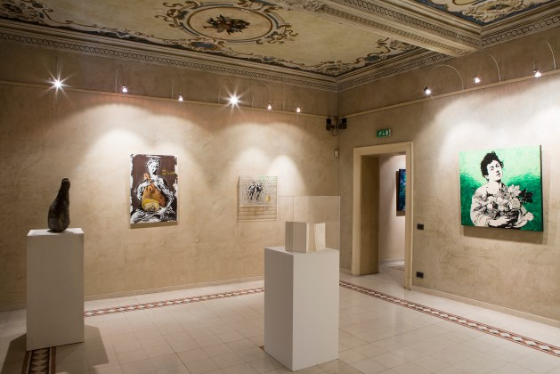 Veduta della mostra The Art of Food Valley, Palazzo Pigorini. Courtesy Ph. Federico Avanzini