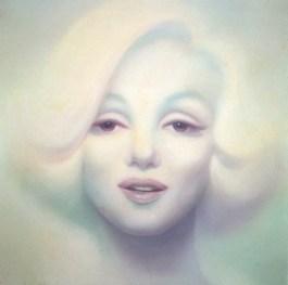 Fulvia Levi Bianchi, Marilyn Monroe, 1995, olio su tela, 200x190 cm
