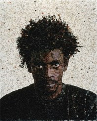Vik Muniz, Jorge (dalla serie Pictures of Magazine), 2003, C-print, 127x101.6 cm, Collezione Annette e Peter Nobel