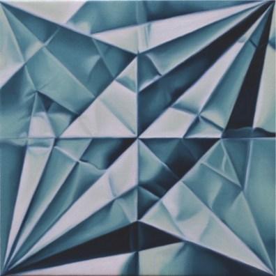 Marica Fasoli, Crane, 2016, olio su tela, 20x20 cm