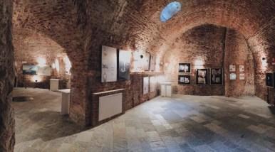 F/10, veduta dell'allestimento, Castello di Casale Monferrato (AL)