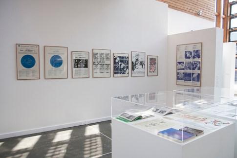 ecologEAST, veduta della mostra con i lavori di Rudolf Sikora