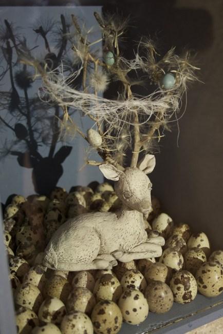Carla Bedini, One: cerbiatto (particolare)
