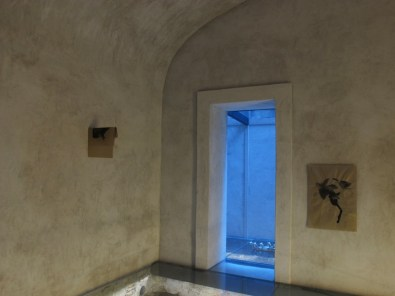 The sugar tales. Fausto Melotti, Gianni Moretti, Andrea Mori, veduta dell'allestimento (Gianni Moretti), Palazzo Lombardi, Arezzo